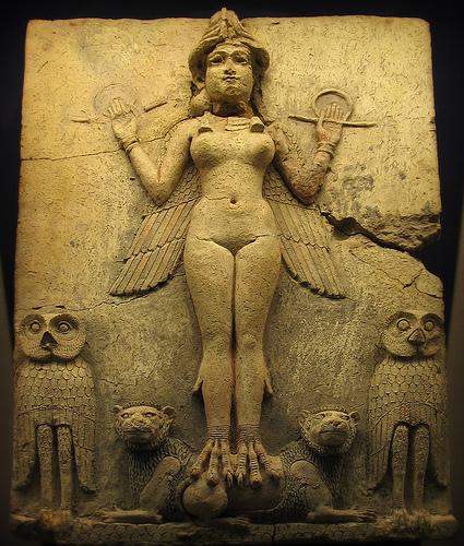 "Déesse Babylonienne ""Ishtar"""