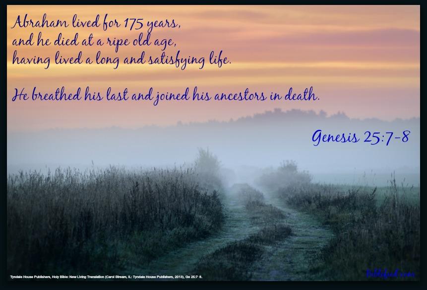 Genesis Chapter 25