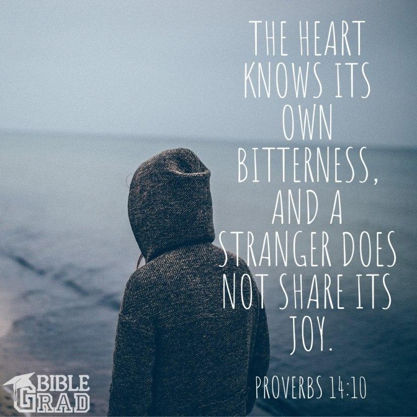 proverbs 14-10