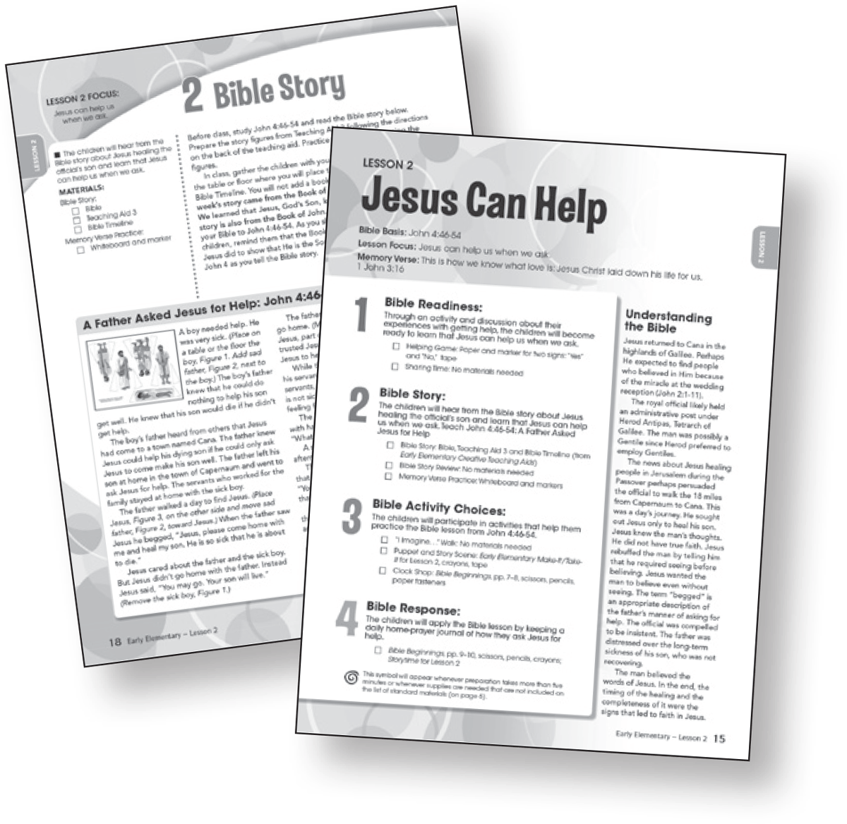 Sunday School Lessons For Kids Bible In Life Upper