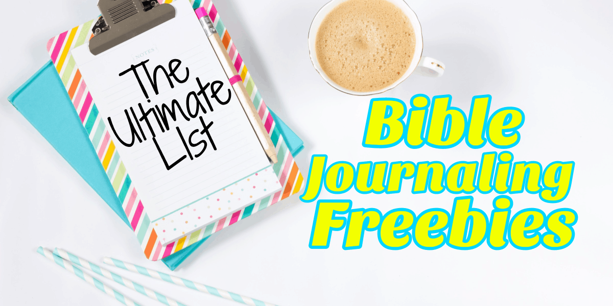 Free Bible Journaling Templates and Digital Freebies for Your Bible ...