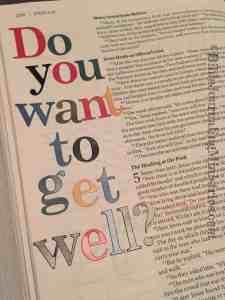 Bible Journaling John 5:6