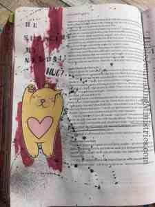 Bible Journaling Philippians 4:19