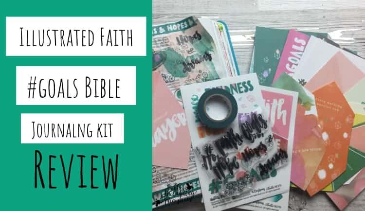 illustrated faith goals kit