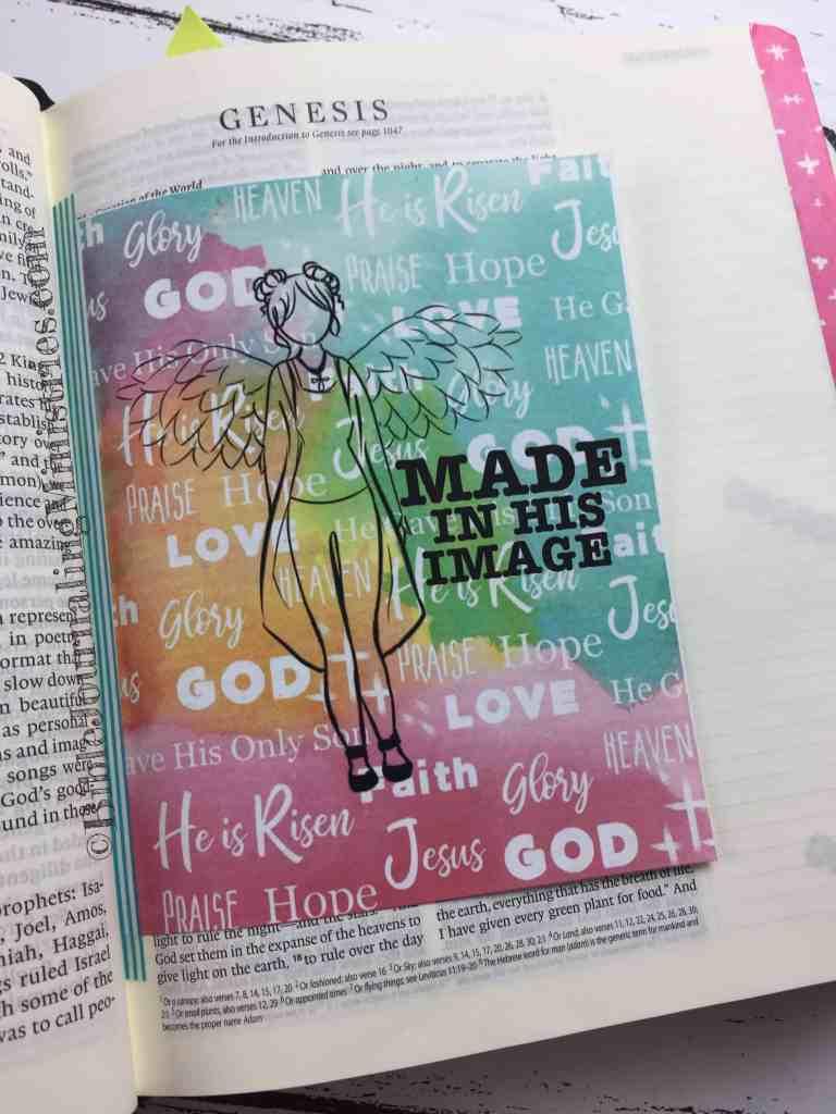 Bible Journaling Genesis 1:26