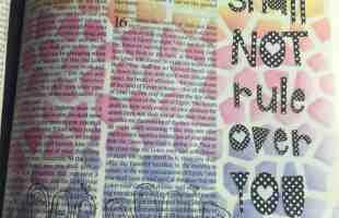 Bible Journaling Bible Verses About Money
