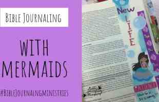 Bible Journaling With Mermaids