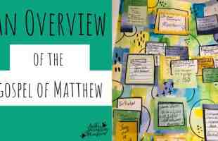 Bible Journaling the Gospel of Matthew