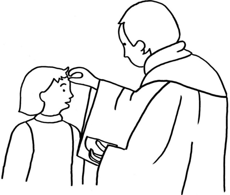 Free coloring pages of lent worksheet