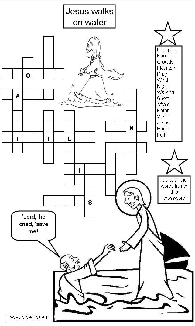 Free coloring pages of peter tells about jesus