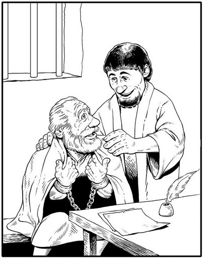 Free timothy and paul coloring pages