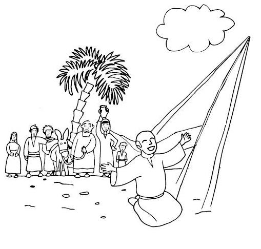 Saul Conversion Coloring Pages Bible Coloring Pages