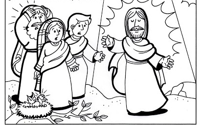 Matthew 11 28 Coloring Pages Coloring Pages