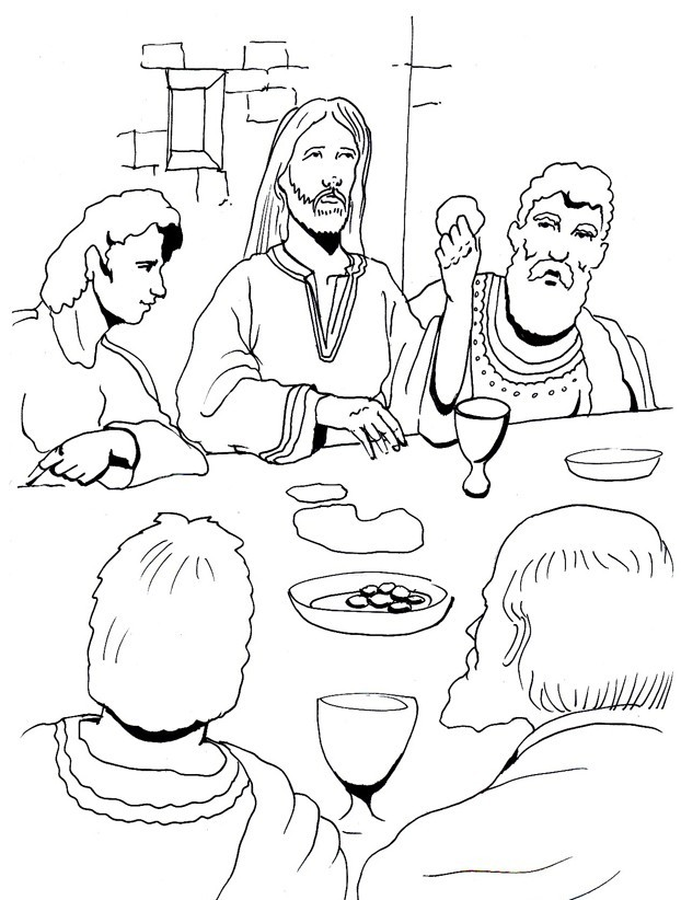 Calvary Coloring Pages Sketch Coloring Page