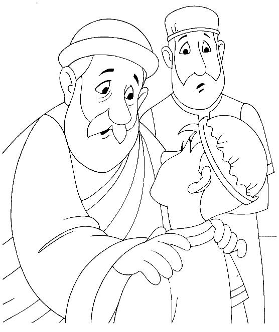 Parable of the Prodigal Son Coloring Pages