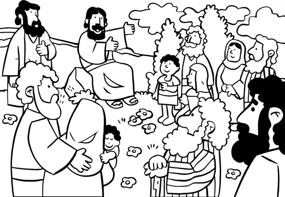 Free he beatitudes coloring pages