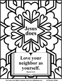 Free Scripture Coloring pages (Bible Coloring pages)