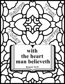 Free Bible coloring pages and Free VBS craft ideas,
