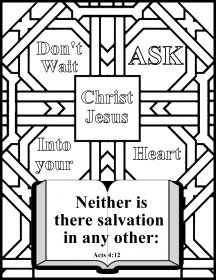 Free Bible coloring pages,Free VBS craft ideas, memory