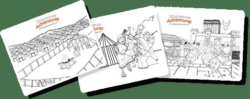 Bible stories for Kids: Stories, Lesson Plans, Quizzes