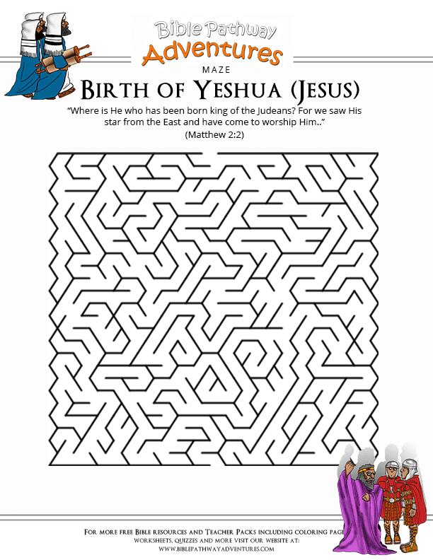 S Activities Birth Yeshua Jesus