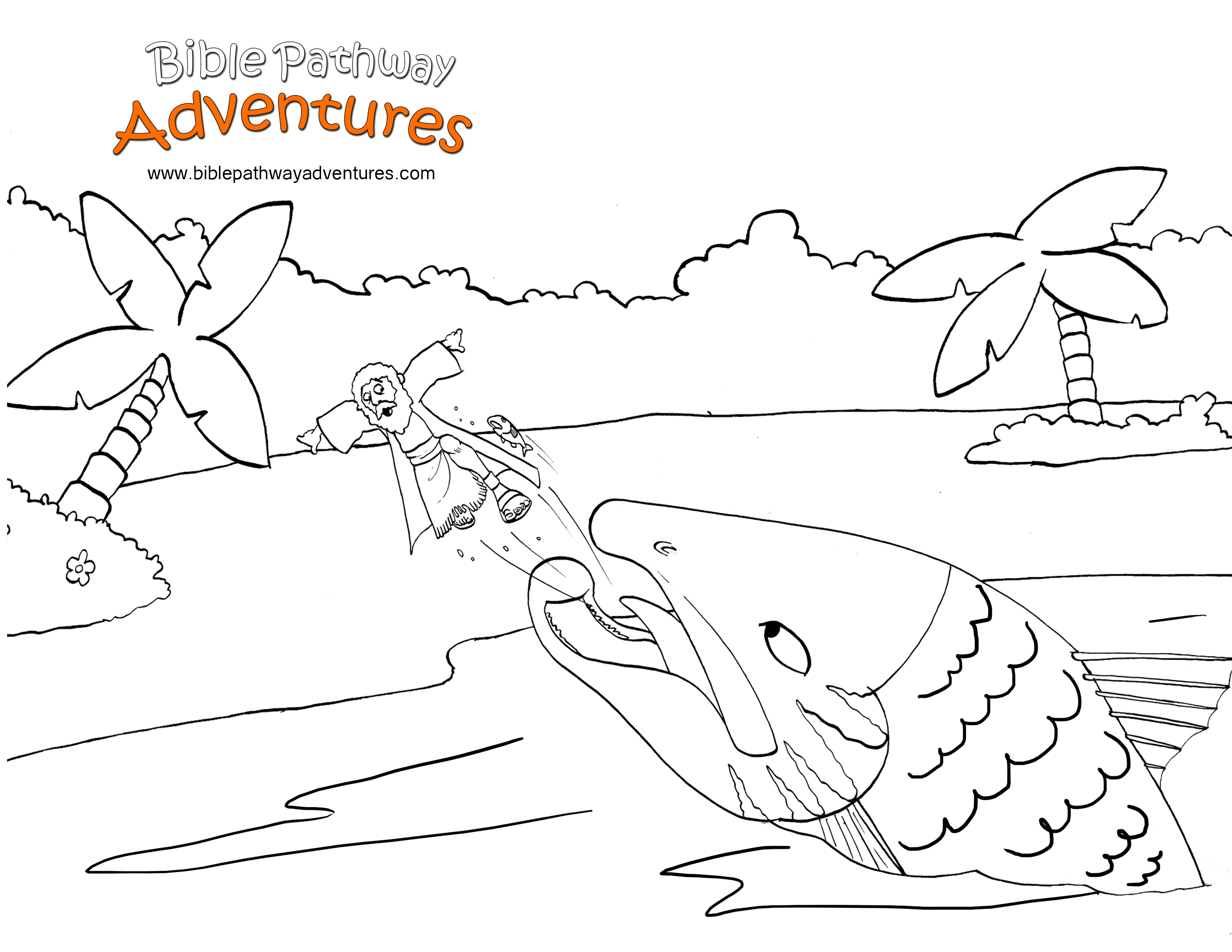 Printable Bible Coloring Page