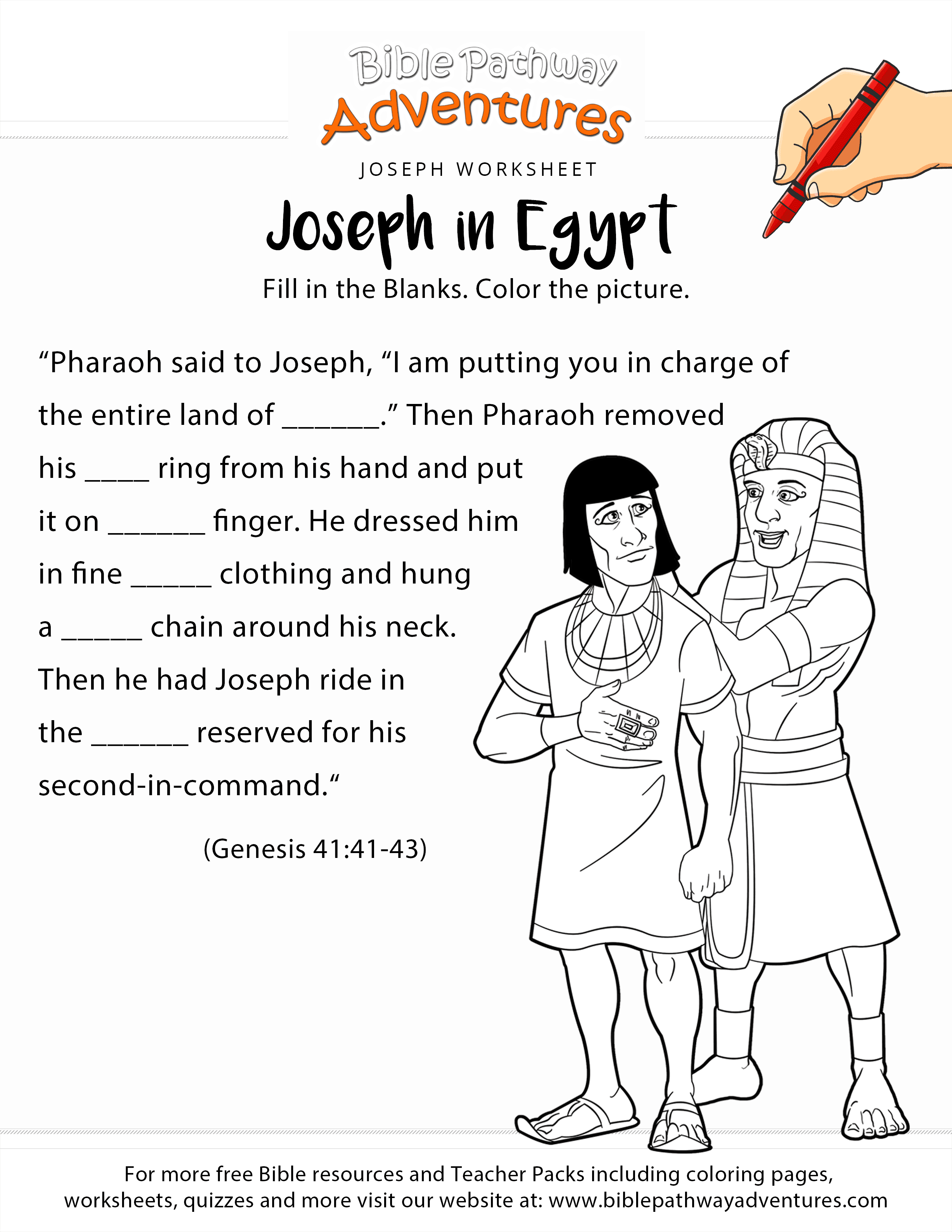 Worksheet Egypt Art