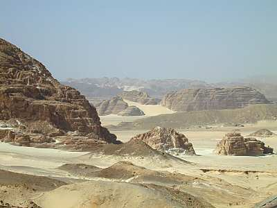 El desierto del Sinai