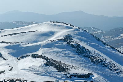 Mount Hermon with snow