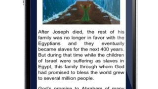 Bible StoryBoard App in iPhone
