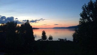A gorgeous Montana sunset