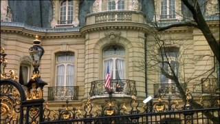 The American Embassy in Paris