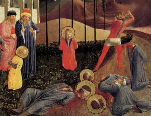 beheading-of-cosmas-and-damian Deus aprova a pena de morte no presente século 21?
