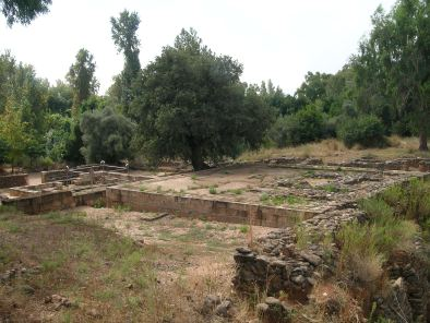 The temple complex at Tel Dan
