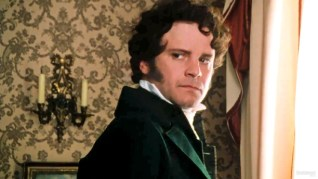 Mr. Darcy (Colin firth) in the BBC version of Pride & Prejudice