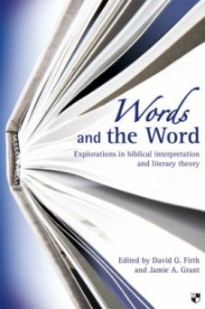 Words and the Word, available at amazon!