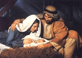 Joseph, Mary, and Jesus