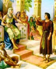 Pharaoh recognizes that Joseph possesses the Spirit of God.