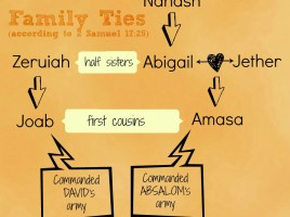 Amasa and Joab were cousins. Both were sons of David's sisters.