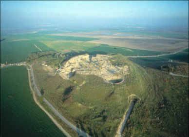 Tel Megiddo and the surrounding valley is frequently identified as the site of the battle of Armageddon.