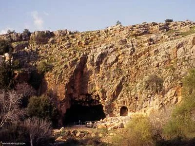 "This cave in Caesarea Philippi, known as the Cave of Pan was also called, ""The Gates of Hades."" The cave is still visible today to anyone visiting Banias."