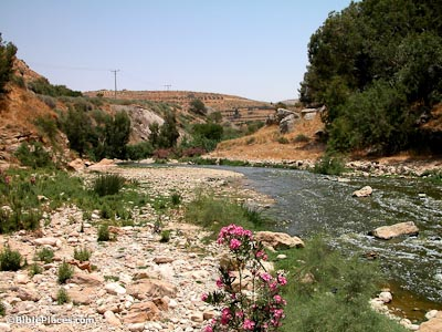 The Jabbok River