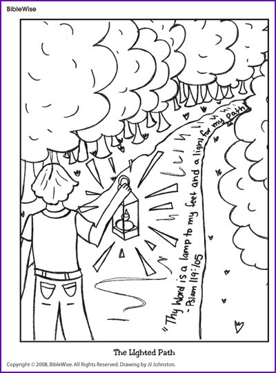Free coloring pages of psalm