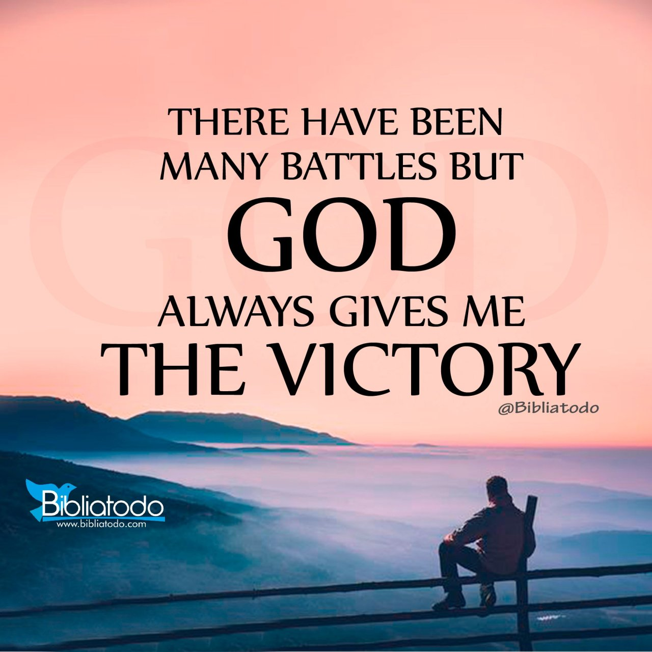 Image result for God gives victory