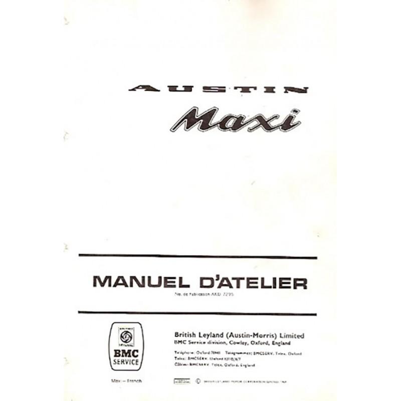 Manuel de Reparation MAXI de Austin