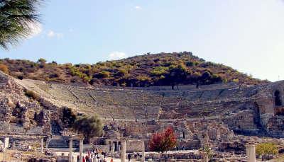 Paul in Ephesus Theater