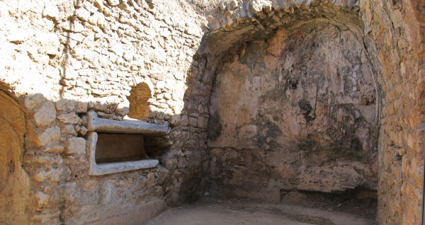 Tomb in the Cave of Seven Sleepers in Ephesus