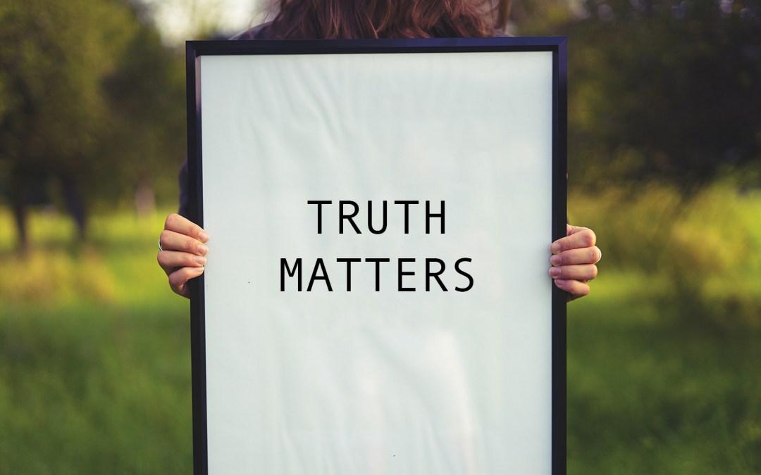 Truth Matters – (Audio Seminar)