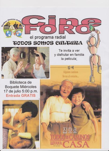 Noticias  BIBLIOTECA DE BOQUETE