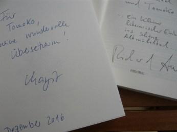 Margitのサイン